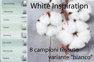 Campioni tessuto White Inspiration