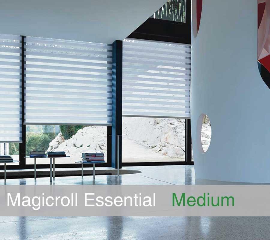 Tenda MAGICROLL Essential su misura con tessuto double taglia M