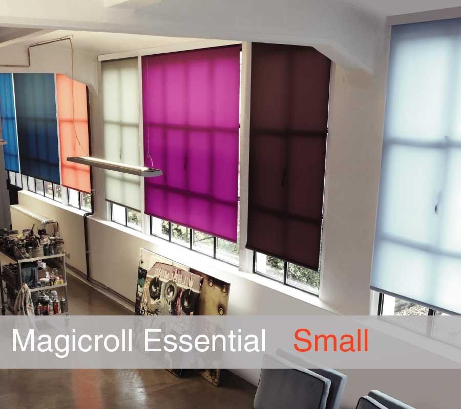 Tenda MAGICROLL Essential su misura con tessuto filtrante taglia S