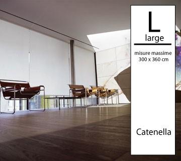 Tenda a rullo Magicroll filtrante BIG - Large a catenella