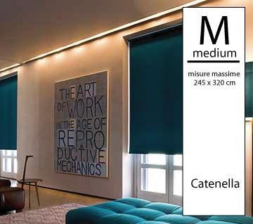 Tenda a rullo Magicroll OSCURANTE - Medium a catenella