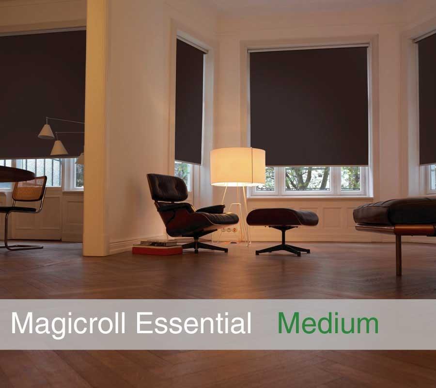 Tenda MAGICROLL Essential su misura con tessuto oscurante taglia M