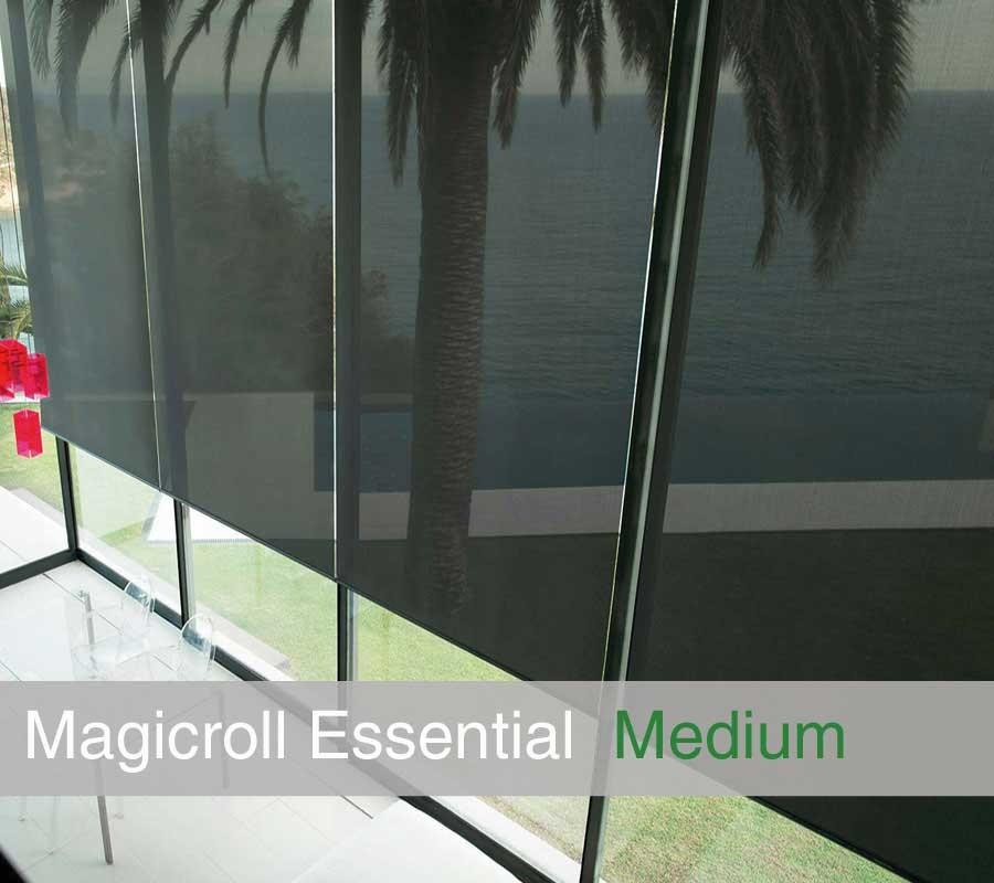 Tenda MAGICROLL Essential su misura con tessuto screen  taglia M