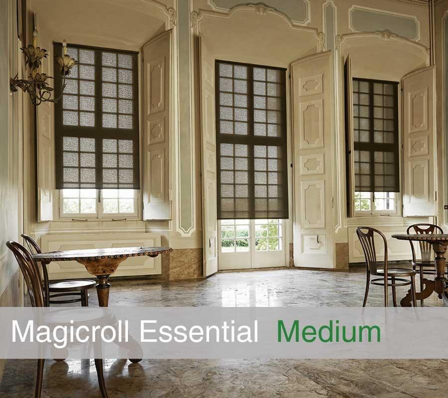 Tenda MAGICROLL Essential su misura con tessuto shantung taglia M