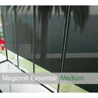 Tenda MAGICROLL Essential MOTOR su misura con tessuto screen taglia M