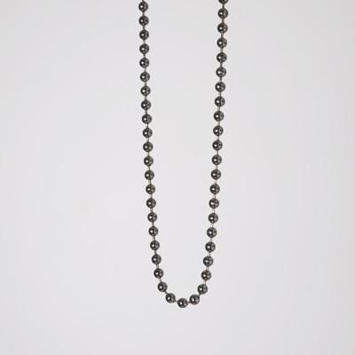catenella metallo black nickel