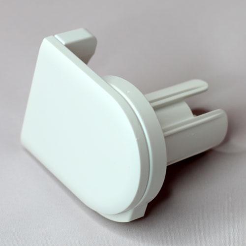 finitura plastica bianca