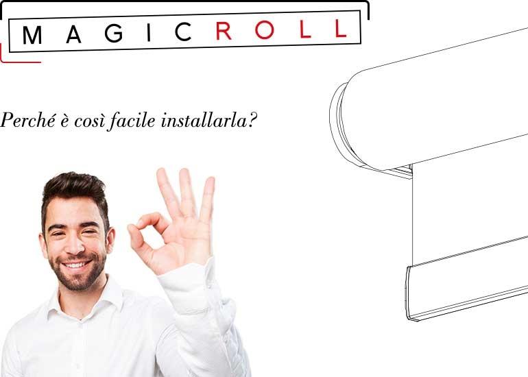 tenda a rullo Magicroll